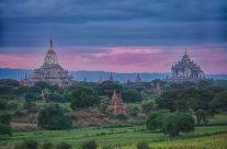 Bagan Myanmar Sunset