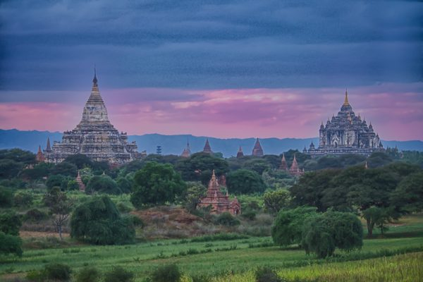 Bagan Myanmar Sunset