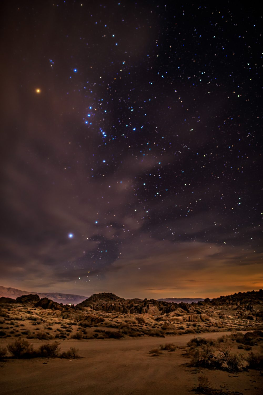 Sierra Stary Night-1