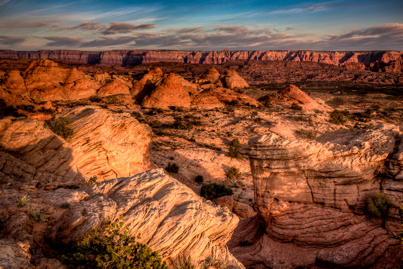 Sandstone Tee Pee's at Sunrise