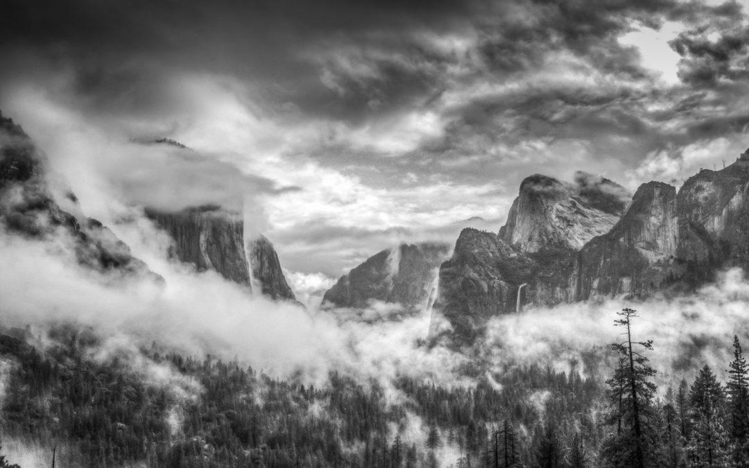 Yosemite Clearing Storm