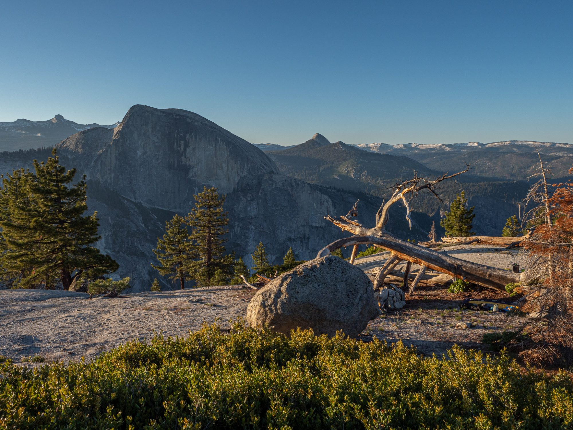 Half Dome the morning after